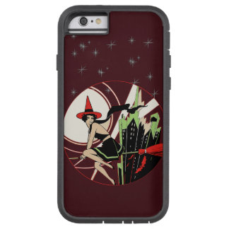Halloween Witch Flying (vintage) Tough Xtreme iPhone 6 Case