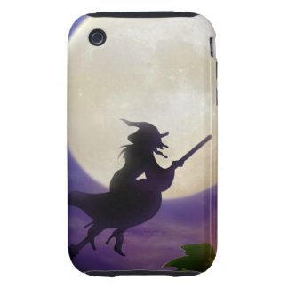 Halloween Witch Full Moon iPhone 3 Tough Covers