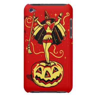 Halloween Witch Girl (vintage) Case-Mate iPod Touch Case