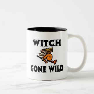 Halloween Witch Gone Wild Mug