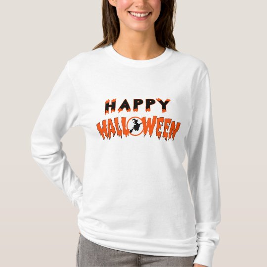 Halloween Witch Happy T-Shirt