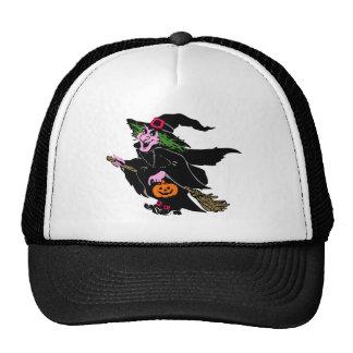 Halloween Witch Mesh Hat