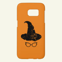 Halloween Witch Hat Scary Art Gift Samsung Galaxy S7 Case