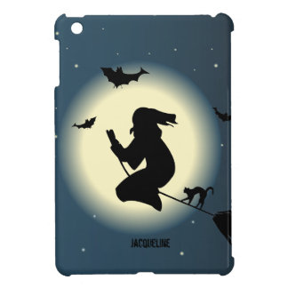 Halloween Witch In Action iPad Mini Case