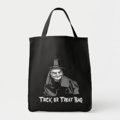 Halloween Witch In Hat - Trick Or Treat Bag at Zazzle