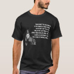 Halloween Witch In Hat Ugly Teeth Macbeth T Shirt at Zazzle