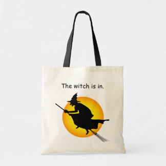 Halloween Witch is in  Budget Tote Bags