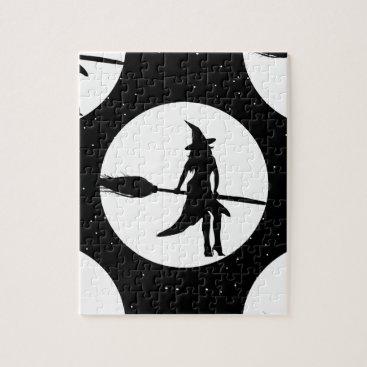 halloween witch jigsaw puzzle