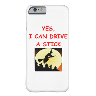 halloween witch joke barely there iPhone 6 case