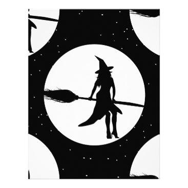 halloween witch letterhead
