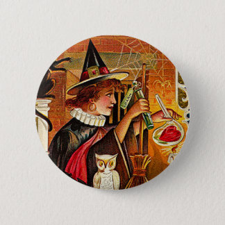Halloween Witch Lovers Potion Button