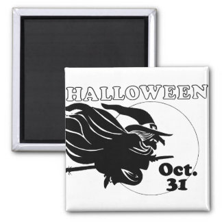 Halloween Witch Magnet