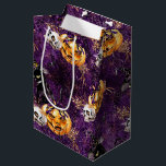 """Halloween Witch Medium Gift Bag<br><div class=""""desc"""">This """"Halloween Witch"""" theme is  available in different products.  Feel free to contact me if you want it in other products.</div>"""