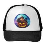 """Halloween Witch"" Mesh Hat"