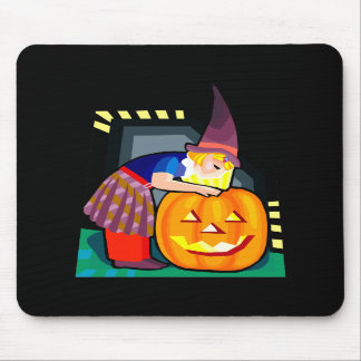 Halloween witch mousepads