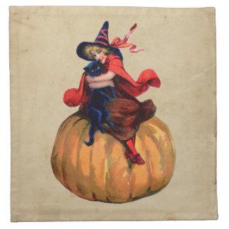 Halloween cloth napkins halloween napkins for Halloween cloth napkins