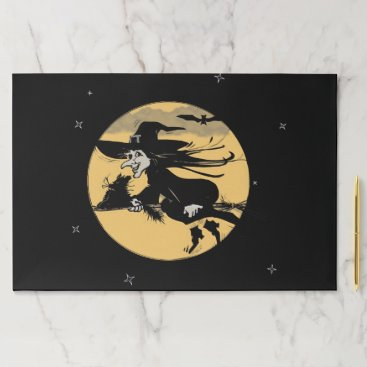 Halloween Themed Halloween Witch Paper Pad