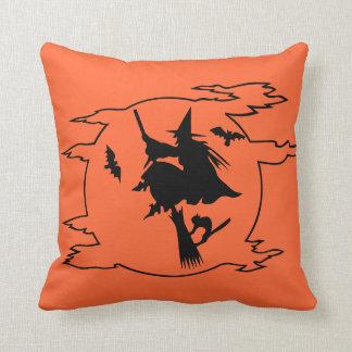 Halloween Witch Pillow