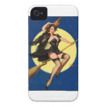 Halloween Witch Pin Up Girl Case-Mate iPhone 4 Cases