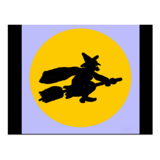 Halloween Witch Post Cards