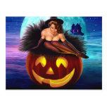 """Halloween Witch"" Postcard"