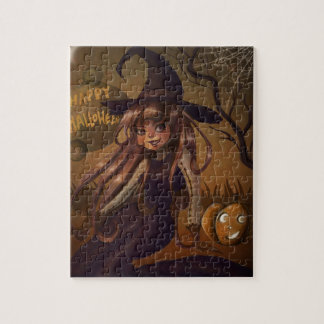 Halloween Witch Puzzle