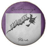 Halloween Witch Riding Broom Thunder_Cove Chocolate Covered Oreo