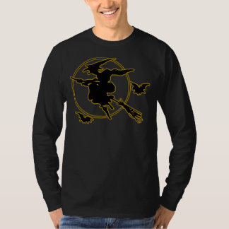 Halloween Witch Silhouette Shirt