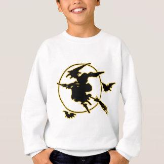 Halloween Witch Silhouette Sweatshirt