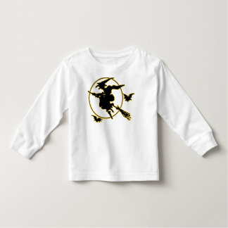 Halloween Witch Silhouette Tees