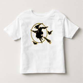 Halloween Witch Silhouette Tshirts