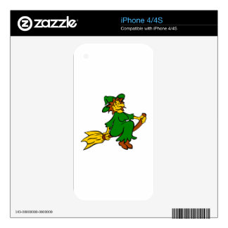 Halloween Witch iPhone 4 Skins