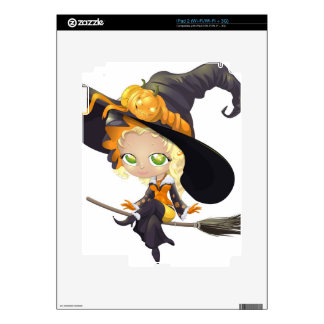 Halloween witch skins for iPad 2