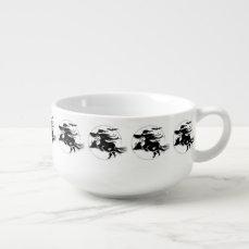 Halloween Witch Soup Mug