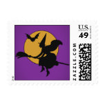 Halloween Witch Stamp