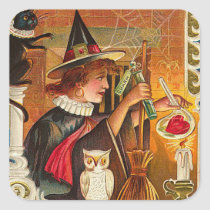 Halloween Witch Stickers - Trick or Treat