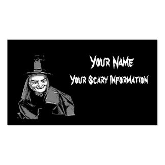 Halloween witch themed business and calling card Double-Sided standard business cards (Pack of 100)