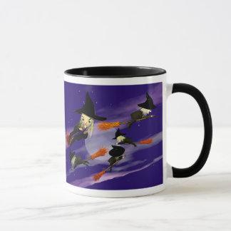 Halloween Witch Traffic Mug