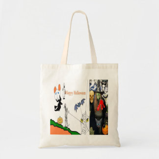 Halloween Witch Trick and Treat Budget Tote Budget Tote Bag