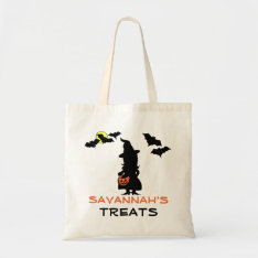 Halloween Witch Trick or Treat Bag at Zazzle