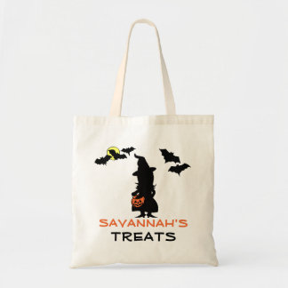 Halloween Witch Trick or Treat Bag