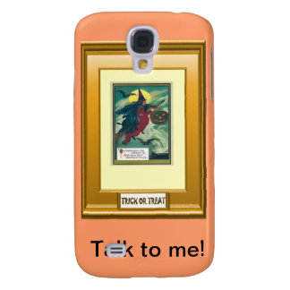 Halloween witch, trick or treat samsung s4 case