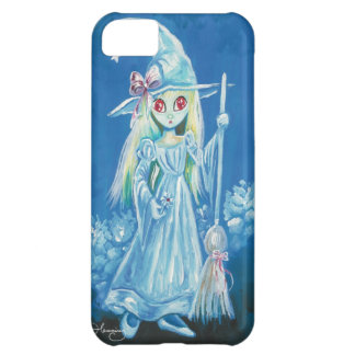 Halloween Witch With Big Red Eyes iPhone 5C Case