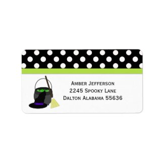 Halloween: Witches Brew: Address Labels