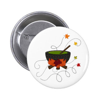 Halloween Witches Brew Pinback Buttons