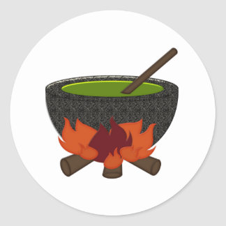 Halloween Witches brew Stickers