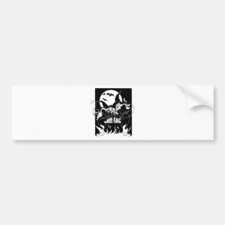 Halloween Witches Bumper Stickers
