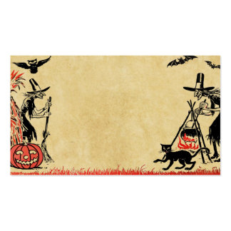 Halloween Witches Business Card