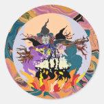 halloween witches decals stickers