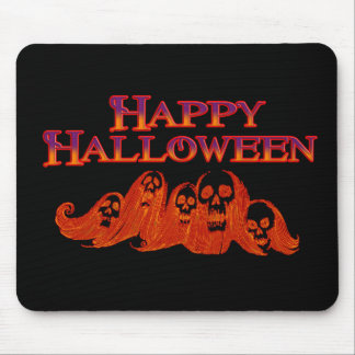 Halloween Witches Happy Halloween Mouse Pad
